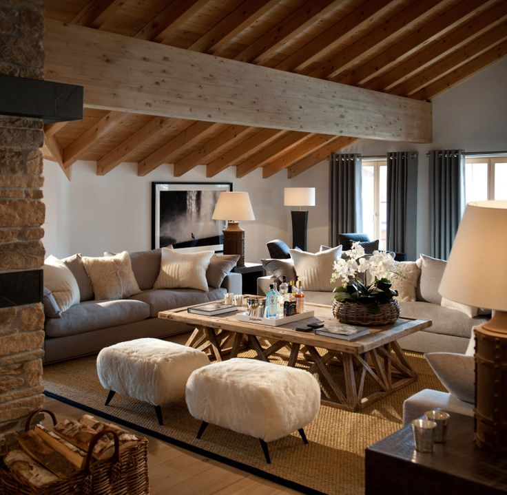 ambiance chalet perfect letoile du berger entrance with. Black Bedroom Furniture Sets. Home Design Ideas